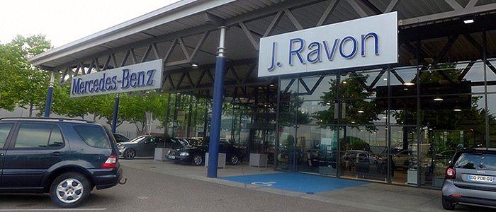Ravon automobile concessionnaire mercedes smart et jeep for Garage ravon saint etienne